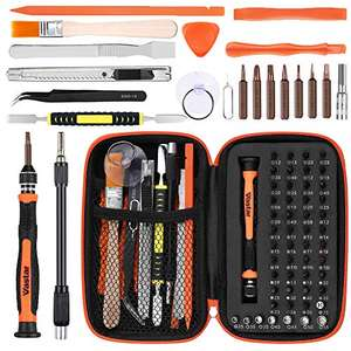 Vastar Precision Screwdriver 68 in 1 electronic repair kit for £13.59 Prime (+£4.49 non-Prime) @ Oscricarnuy / Amazon