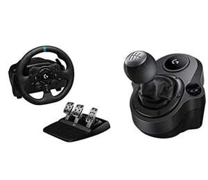 Logitech G923 Racing Wheel and Pedals for Xbox, Playstation & PC TRUEFORCE 1000 Hz Force Feedback + Driving Force Shifter £260.99 Amazon