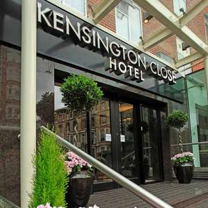 King Room for 2 with Breakfast and Leisure Access at 4* Holiday Inn London Kensington from £89 using code (Refundable) @ Groupon
