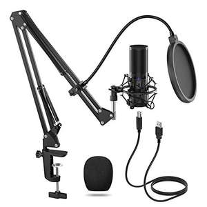 TONOR USB Microphone Kit Q9 £41.99 w/ Voucher Sold by Micfonotech and Fulfilled by Amazon