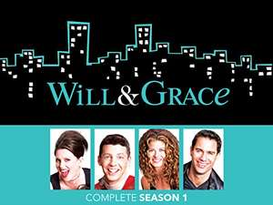 Will and Grace Seasons 1-8 (and '17) in HD £3.99 EACH @ Amazon prime video