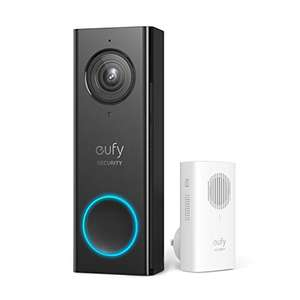 eufy Security Wi-Fi Video Doorbell (2K) with Free Wireless Chime £109.99 Sold by AnkerDirect and Fulfilled by Amazon
