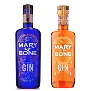 Any 2 bottles of Marylebone gin (Orange & Geranium / London Dry) - 2 x 50cl £25 delivered (UK Mainland) @ The Drop Store