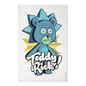 Rick and Morty Tea Towel: Teddy Rick - £3.99 Delivered at Forbidden Planet