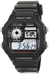 Casio Collection AE-1200WH-1AVEF World Time Watch, £20.42 at Amazon