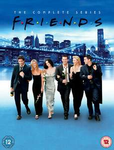 Friends: The Complete Series DVD - £6.31 @ Musicmagpie / ebay