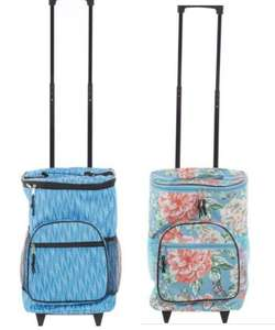Patterned Cooler Bag on Wheels (holds up to 36 cans) £14.00 + £1.99 UK Mainland Click and collect from TK Maxx