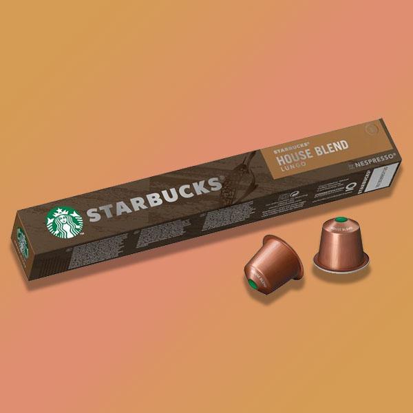 80 x Starbucks Lungo Coffee Nespresso Pods /120 x Starbucks Blonde Espresso Coffee Nespresso Pods BB 24/06/21 £10 delivered @ Yankee Bundles
