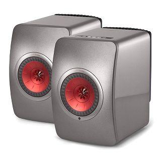 KEF LS50W Titanium Grey Wireless Mini Monitor Speakers (Pair) £1549 @ AudioVisual Online