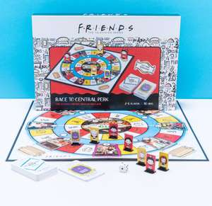 Friends Trivia Race To Central Perk Board Game Now £12.49 Free delivery @ Bargainmax