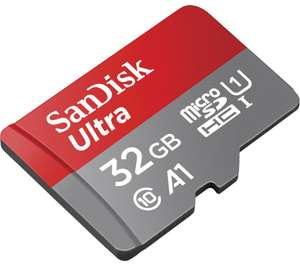 SANDISK Ultra Class 10 microSDHC Memory Card - 32 GB £5.99 delivered @ Currys PC World