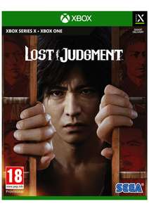 Lost Judgment [Xbox One / Series X / PS5] Pre-Order £39.85 delivered @ Simply Games