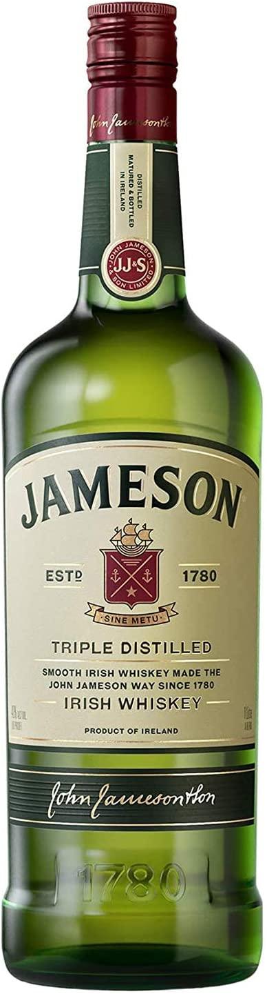 Jameson Triple Distilled Blended Irish Whiskey 1l £15.34 @ Asda (Solihull)