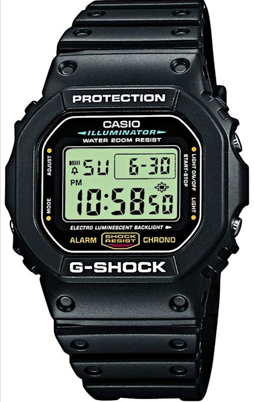 Casio G-Shock Watch DW-5600E-1VER £58.08 (UK Mainland) via Amazon EU on Amazon