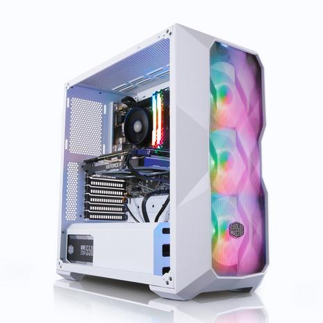 AWD TD500 White DRGB Ryzen 5 5600X 6 Core 4.6GHz NVIDIA RTX 3060 12GB Desktop PC for Gaming 969.94 @ AWD-IT