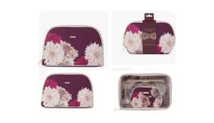 Ted Baker Small/Large Small pvc Large pvc Cosmetic Wash Bag £5 / Ted Baker Trio Wash Bag &Beauty wash Bag £10 /+ £1.50 click & collect Boots