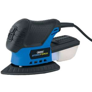 Draper 230V Tri-Palm Sander with 28 Accessories £19.99 (Free Click & Collect available or £4.95 P&P) @ Robert Dyas