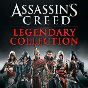Assassin's Creed Legendary Collection - Black Flag, Rogue, Unity, Syndicate, Origins & Odyssey [Xbox One / Series X/S] £24.40 @ Xbox Brazil