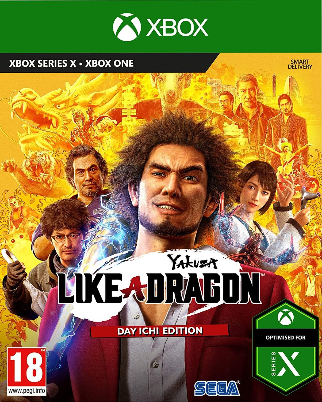 Yakuza Like a Dragon Steelbook Edition - Xbox One, Series S/X £21.99 Delivered @ Amazon