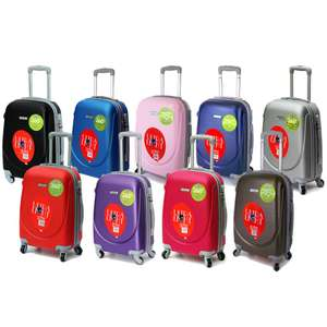 Airline-approved ABS Hard Cabin Cases in various colours for £18 delivered @ WeeklyDeals4Less