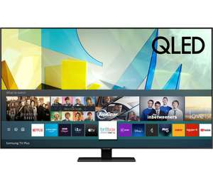 "Samsung QE65Q80T (2020) QLED HDR 1500 4K Ultra HD Smart TV, 65"" with TVPlus/Freesat HD Free 6 Year Guarantee£998 with code at Spatial Online"