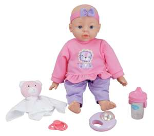 Chad Valley Babies to Love Magnetic Baby Doll Set now £7.50 click and collect @ Argos