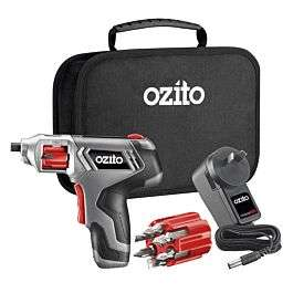 Ozito 3.6V 1.5Ah Li-ion Cordless Lock and Load Auto Screwdriver for £19.99 click & collect (+£4.95 delivery) @ Robert Dyas