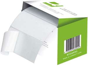 Q-Connect Easi Peel Address Label - Roll of 200, White : Usually dispatched within 1 to 2 months £1.68 (+£4.49 Non Prime) @ Amazon