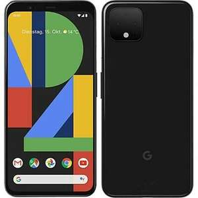Google Pixel 4 Black 64GB Android 11 Unlocked Smartphone - Open Box £294.49 @ eBay cell-tech2020