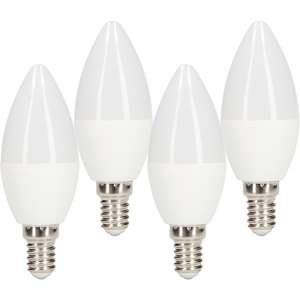 LED Frosted Candle Lamp 5.5W SES 470lm £1.34 each, (x2 output) £5.38 @ Toolstation Free click and collect
