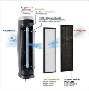 PureMate 5 IN 1 Multiple Technology PM 520 True Hepa Air Purifier £129.99 @ Sold by PureMate and Fulfilled by Amazon.