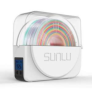SUNLU 3D Filament Dry Box For 1.75mm, 2.85mm, 3.00mm, Spool Holder Dispatched from and sold by Amazon EU - UK Mainland Free delivery