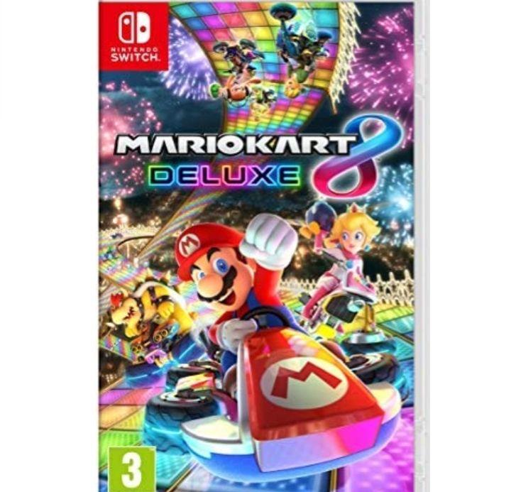 Giochi per Console Nintendo Mario Kart 8 Deluxe £33.61 at Amazon