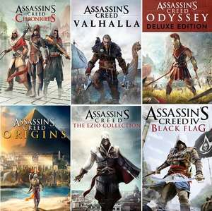 Assassin's Creed The Ezio Collection - £4.87 & MORE Assassin's Creed games [Xbox One & Series] No VPN required @ Microsoft Store Brazil