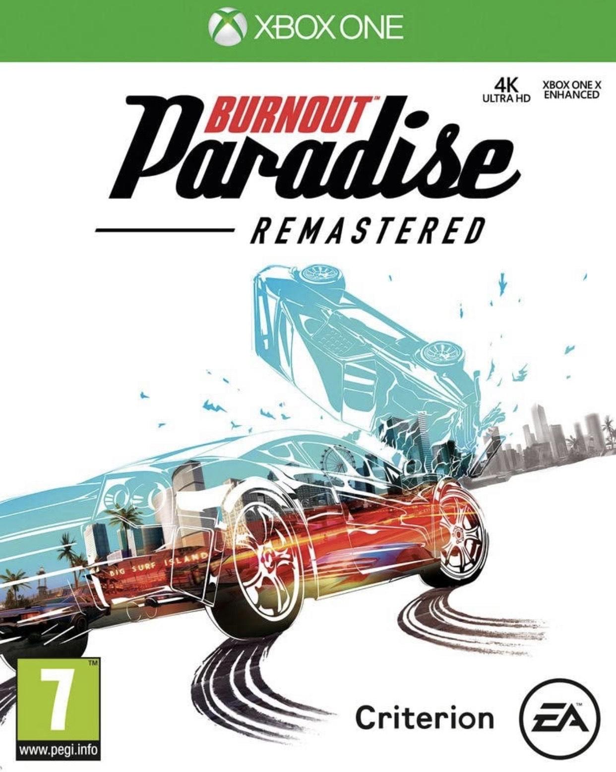 Burnout Paradise Remastered £4.99 @ Microsoft store