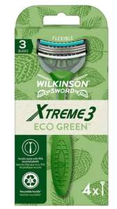 Xtreme3 Eco Green by Wilkinson Sword 3 Blade 50p @ Asda Portsmouth