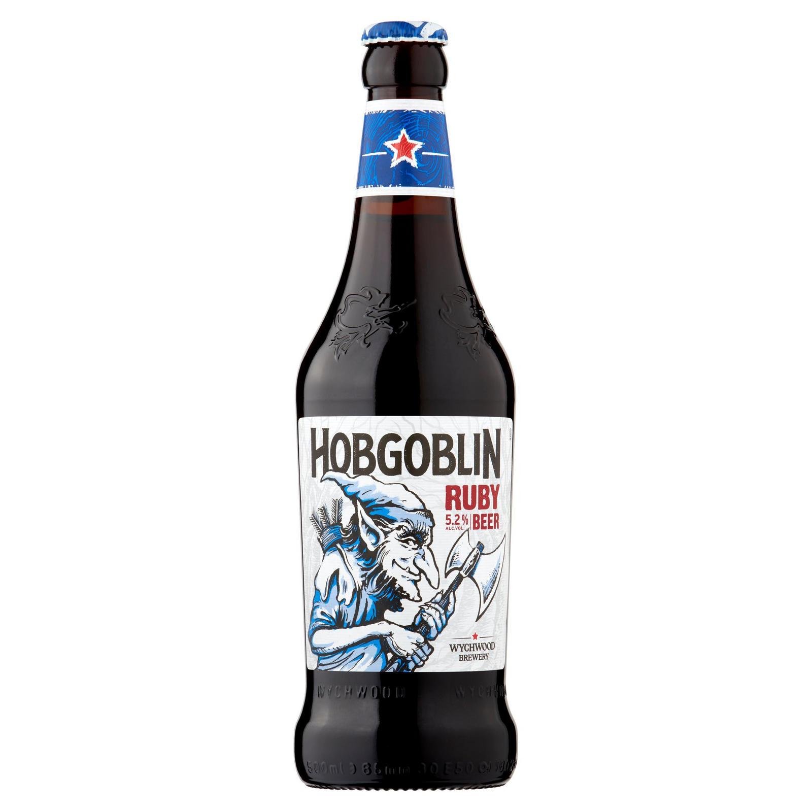 Hobgoblin Ruby ale 500ml bottles, 67p at Asda Milton Keynes