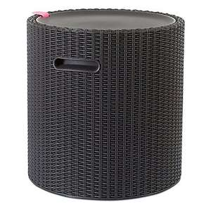 Keter Mia Anthracite Cool Stool - £30 Click & Collect @ Trade Point (B&Q) (Trade card required)