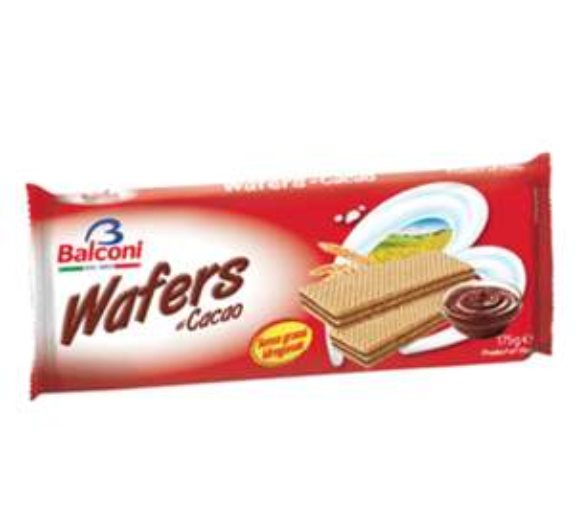 175g Balconi Chocolate Wafers 39p | 5pk Cadbury Fudge Cake Bars for 79p @ Farmfoods