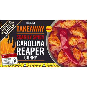 Iceland Scarily Spicy Carolina Reaper Curry 375g - £1.89 @ Iceland