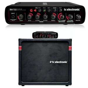 TC Electronic RH750 750W Bass Amp Head - £349 Delivered / Or RH750 Bass Amp + K-410 Cabinet £499 Delivered @ Andertons
