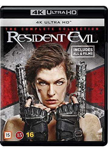 Resident Evil 1-6 Complete 4K Uhd [EU Import] - BluRay 4K Ultra HD Blu-ray £37.20 delivered at Rarewaves