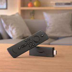 Amazon All-New Fire TV Stick with Alexa Voice Remote NOT LITE version - £34.91 deivered (£29.91 with new customer discount) at QVC