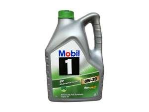 MOBIL 1 ESP X2 0W20 FULLY SYNTHETIC ENGINE OIL 5 LITRES @ Coxmotorparts