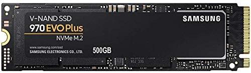 Samsung 970 EVO Plus 500 GB PCIe NVMe M.2 (2280) Internal Solid State Drive (SSD) (MZ-V7S500) £63.19 @ Amazon
