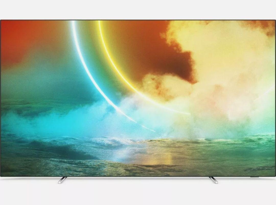 "PHILIPS Ambilight 55OLED705/12 55"" Smart 4K Ultra HD HDR OLED TV - £949.05 With Code (UK Mainland & NI) @ Currys On Ebay"