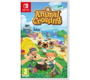 NINTENDO SWITCH Animal Crossing: New Horizons - £34.99 with code @ Currys