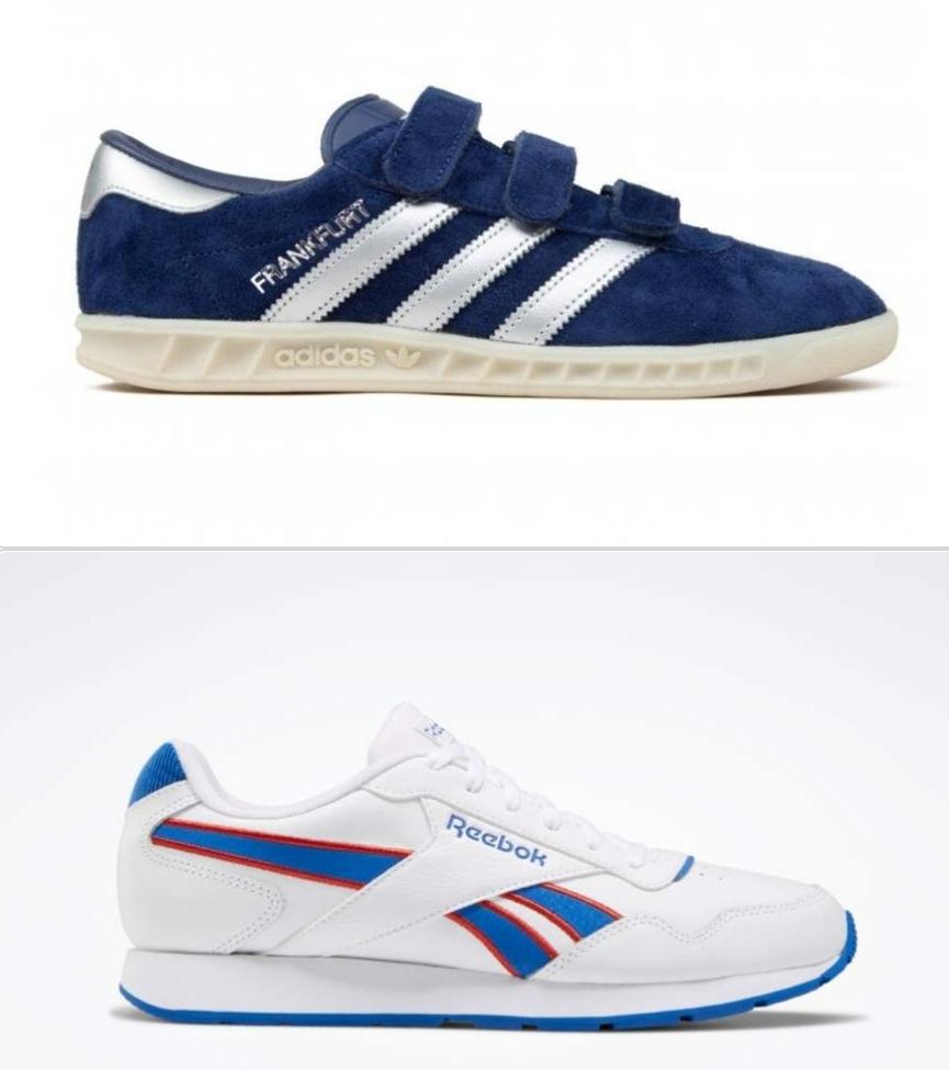 Extra 20% off Adidas Originals & Reebok Classic Trainers Eg Reebok Royal Glide £20 Adidas Frankfurt £27.20 Instore Adidas Outlet Castleford