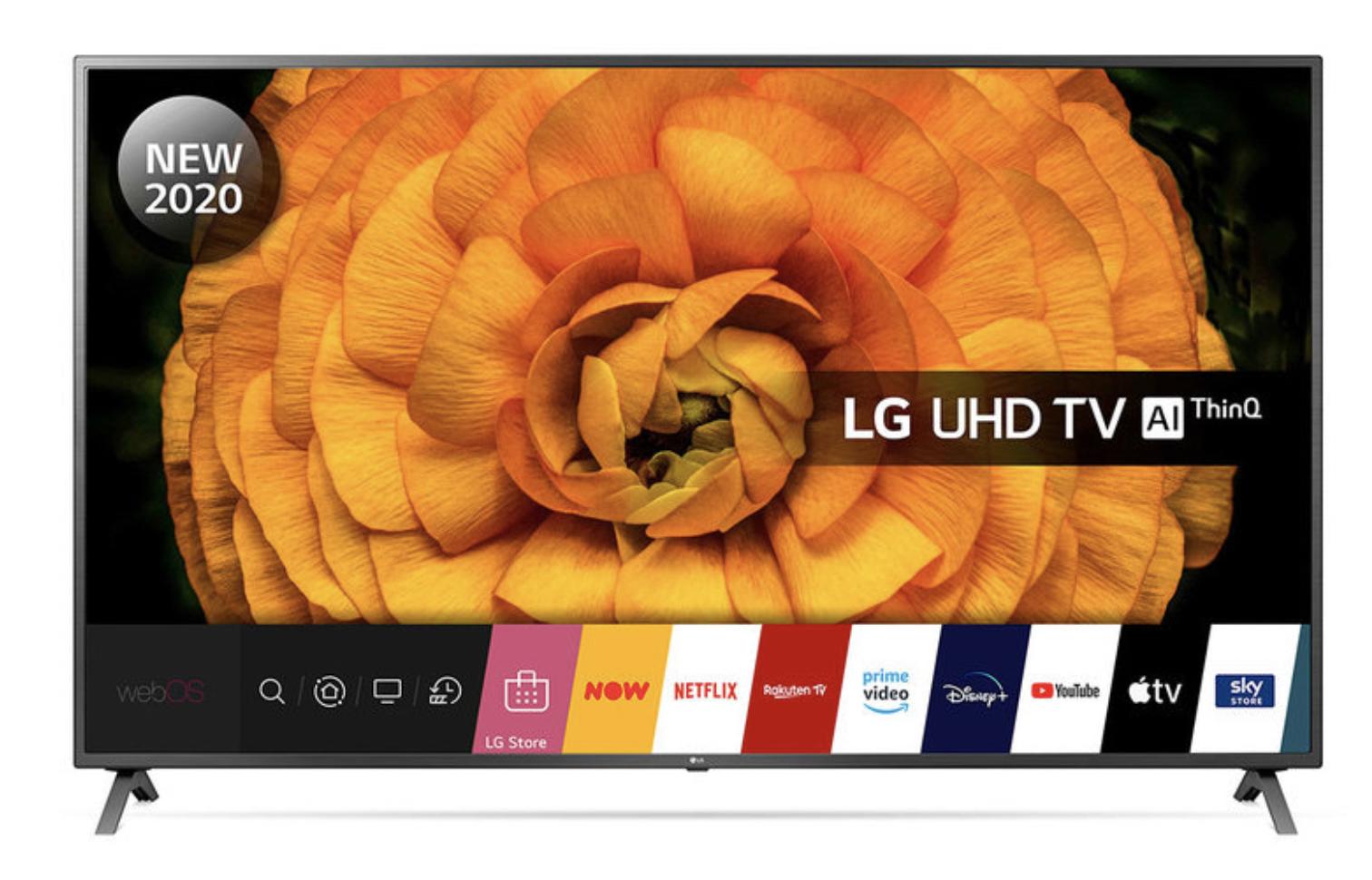 LG 82UN85006LA 82 Inch 4K Ultra HD Smart TV - £959.98 @ Costco (Glasgow)
