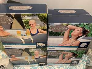 Lay Z Spa Pillow and drink Holders Half Price @ Morrison's Weston Super Mare